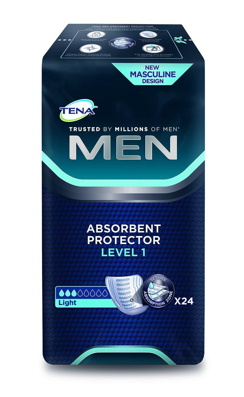 TENA® MEN Level 1 24 incontinence pads